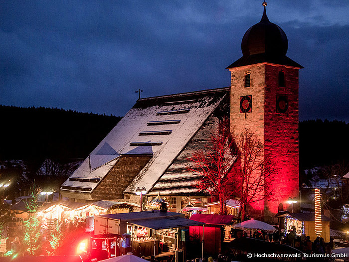 Wintermarkt in Schluchsee