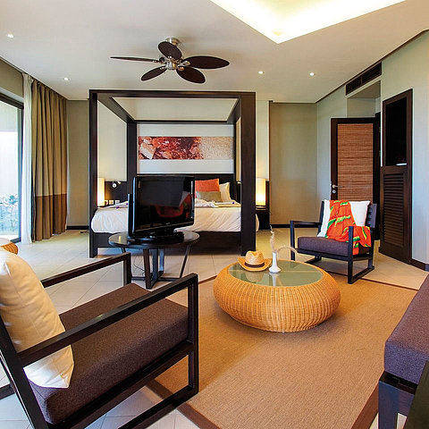 Deluxe Familienzimmer | Maritim Crystals Beach Hotel Mauritius
